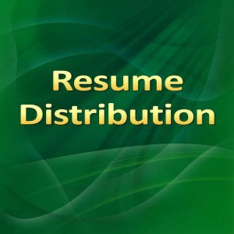 Distribution resume services